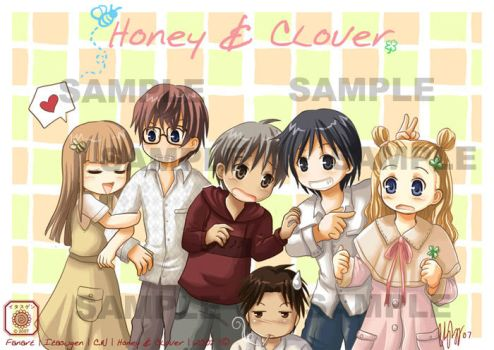 Honey and Clover : Together by Itasugen