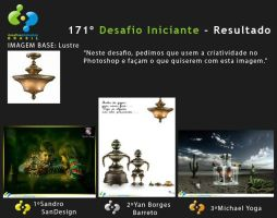 3RD Place - 171 Iniciant Challenge by michaeldesigner15