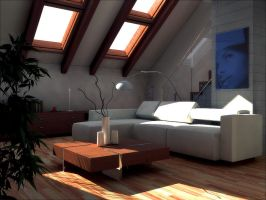 flat A_living room day 02 by betalifetester