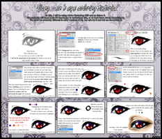 Eye Coloring Tutorial by Qiang-Zi