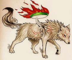 really ugly okami pic by mutt32