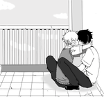 Sasunaru - A Normal School Day by High-on-happiness