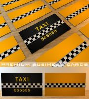 Taxi Business Cards by Freshbusinesscards