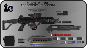 AR-559 Carbine New WIP 1 by Jon-Michael-May