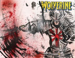 Wolverine 1-SILVER SAMURAI by Justin3000