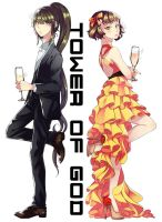 Tower of God : Je viole grace and Andorthy zahard by A-RAM