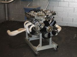 Chevrolet 377 Cubic Inch Racing Engine by Aya-Wavedancer
