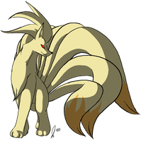 Ninetales is Pretty by jaclynonacloud