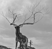 The wired antlers by Ariel1707