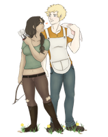 THG- The Archer and The Baker by Cherrie-Keane