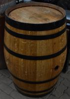Full wooden barrel 1 by RecreateStock