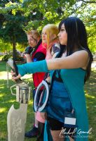 Final Fantasy VIII Party Group Cosplay by GroahPhoto