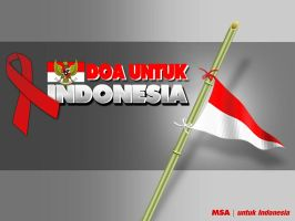 Pray for Indonesia by muhammadsamien