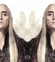 Thranduil of Mirkwood by iary
