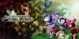 Dissidia MLP Heroes by DLowell