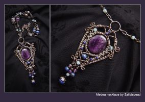 Medea necklace by bodaszilvia