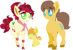 :HC: braeburn family by angelstar000