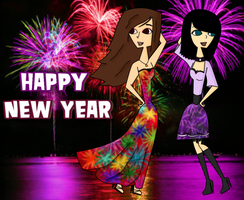 HAPPY NEW YEAR by katidoodlesmuch