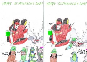 Happy St. Patrick's day deviantART by IllyDragonfly