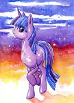 Watercolor Twilight Sparkle by BellaCielo