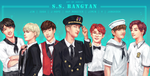 S.S. BANGTAN -- Captain and Crew by Aureta