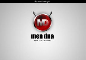 Men Dna Logo by dynamicmk