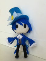 Alice in Musicland Plushie: Kaito by ha-nata