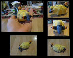 Mareep Sculpture by NstealthL