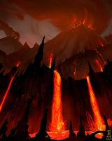 Volcano by Concept-Art-House
