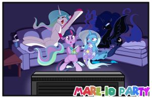 Curran Commission Marioparty 01 by bunnimation