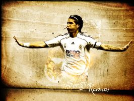Sergio Ramos - Real Madrid by Mohammed-AlSulaiti