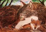 Mother love by Freya-Soft-Paws