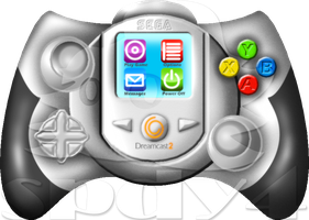 Dreamcast 2 Controller Concept by spdy4