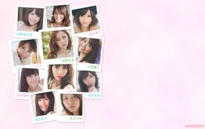 AKB48 wallpaper by xalleonlatsyrc