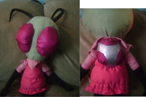 Invader Zim Plush by S3R3N17Y