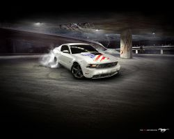 You can make a 2010 Mustang by Partywave
