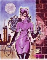 CATWOMAN cartoony byRODEL MARTIN (10252013) by rodelsm21