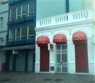 Restored Buildings in Brazil. by Argenx