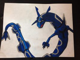 Rayquaza by KatiesClayCreatures
