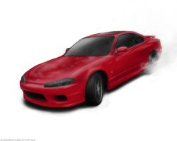 Silvia S15 Drift by Bloodred070
