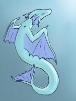 Water Dragon by wispywaffle