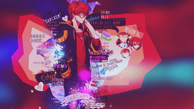 Wallpaper [ Luciel Choi  | 707 ] Mystic Messenger by lKoizumil