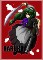 Haruka the strong maid by T-S-M