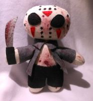 Jason Voorhees Plush (For Sale) by FuzzyAliens