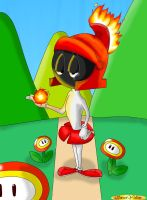 Fire Marvin by Toufeuilles