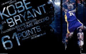 Kobe Bryant 61 Points by IshaanMishra