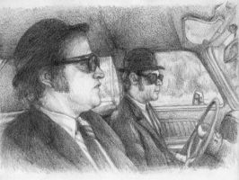 Blues Brothers by NessaSan