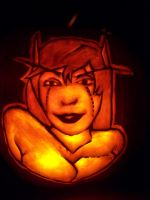 WoW Blood Elf Pumpkin by YXZY
