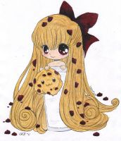 Cookie Colored by CKNelson