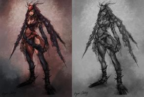 Personal Concept: Thorn Queen by Showmeyourmoves